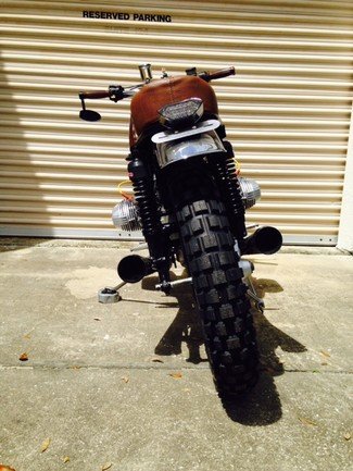 1980 BMW R65 CUSTOM SCRAMBLER MOTORCYCLE Cocoa, Florida 6