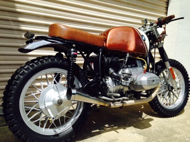 1980 bmw r65 custom scrambler motorcycle ebay. Black Bedroom Furniture Sets. Home Design Ideas