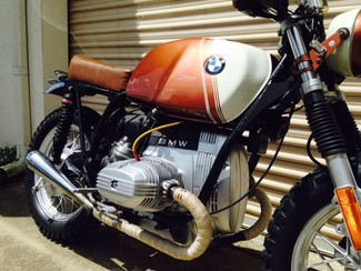 1980 BMW R65 CUSTOM SCRAMBLER MOTORCYCLE Cocoa, Florida 4