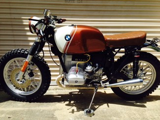1980 BMW R65 CUSTOM SCRAMBLER MOTORCYCLE Cocoa, Florida 5