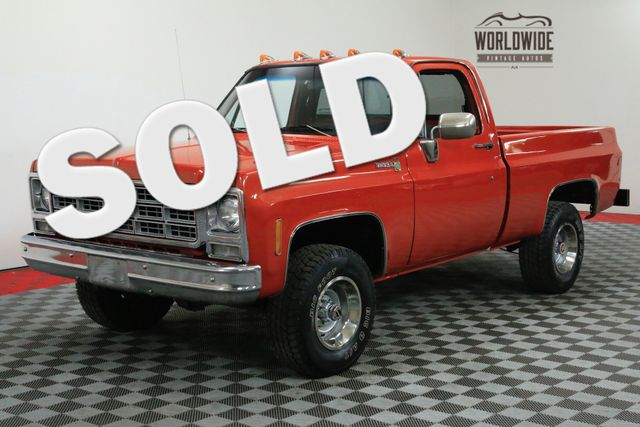 1980 Chevrolet K10 4x4 FRAME OFF RESTORATION COLLECTOR | Denver, CO | WORLDWIDE VINTAGE AUTOS