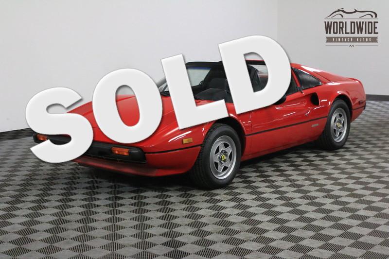 1980 Ferrari 308 GTSI RARE. LOW MILES. ORIGINAL. MUST SEE
