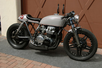 1980 Honda CB650 CUSTOM VINTAGE MOTO CAFE RACER MADE TO ORDER MOTORCYCLE Mendham, New Jersey 10