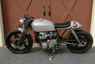 1980 Honda CB650 CUSTOM VINTAGE MOTO CAFE RACER MADE TO ORDER MOTORCYCLE Mendham, New Jersey 11