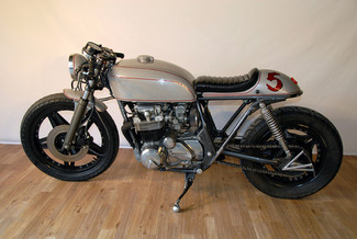 1980 Honda CB650 CUSTOM VINTAGE MOTO CAFE RACER MADE TO ORDER MOTORCYCLE Cocoa, Florida 27