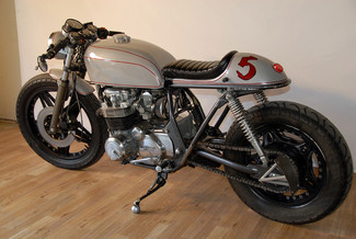 1980 Honda CB650 CUSTOM VINTAGE MOTO CAFE RACER MADE TO ORDER MOTORCYCLE Mendham, New Jersey 33