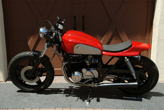1980 Honda CB650 CUSTOM MADE TO ORDER STREET TRACKER CAFE RACER Mendham, New Jersey 1