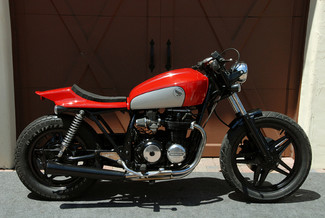 1980 Honda CB650 CUSTOM MADE TO ORDER STREET TRACKER CAFE RACER Mendham, New Jersey 12