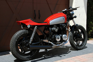 1980 Honda CB650 CUSTOM MADE TO ORDER STREET TRACKER CAFE RACER Mendham, New Jersey 3