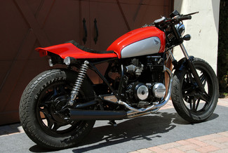 1980 Honda CB650 CUSTOM MADE TO ORDER STREET TRACKER CAFE RACER Mendham, New Jersey 16