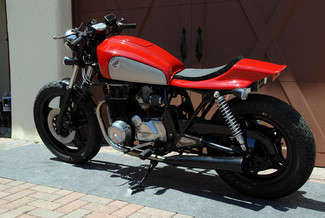 1980 Honda CB650 CUSTOM MADE TO ORDER STREET TRACKER CAFE RACER Mendham, New Jersey 2