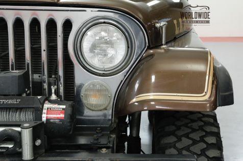 1980 Jeep CJ7 LAREDO AMC 401 V8 AUTO 4X4 4-WHEEL DISC | Denver, CO | Worldwide Vintage Autos in Denver, CO