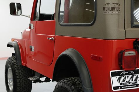 1980 Jeep CJ7 4x4 CONVERTIBLE. V8 LIFTED HARD TOP | Denver, CO | Worldwide Vintage Autos in Denver, CO