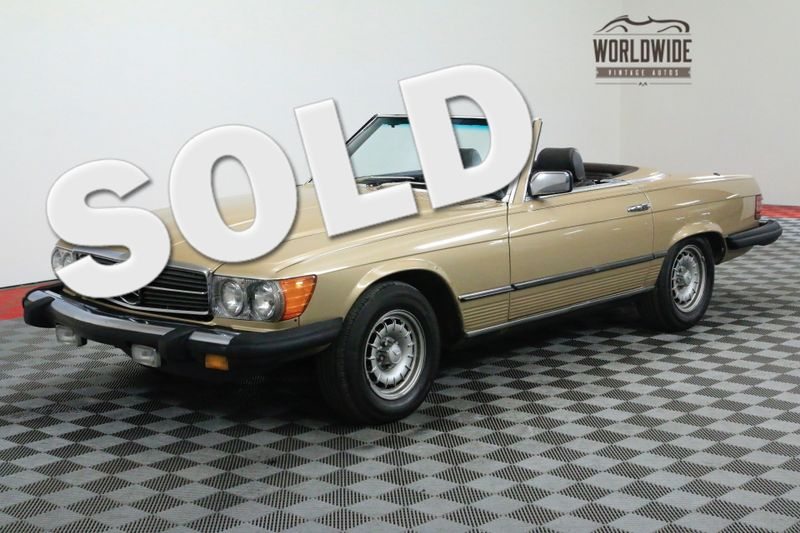1980 Mercedes-Benz 450SL LAST YEAR OF THE 450 TWO TOPS V8 | Denver, CO | Worldwide Vintage Autos