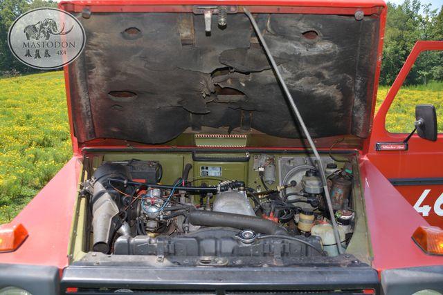 1980 Mercedes  Benz G-wagon 230GE GAS 4cyl BARN DOOR, Birmingham, AL 38