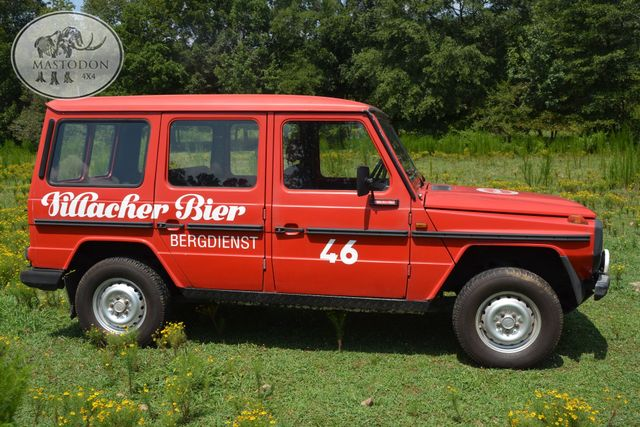 1980 Mercedes  Benz G-wagon 230GE GAS 4cyl BARN DOOR, Birmingham, AL 21