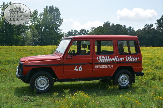 1980 Mercedes  Benz G-wagon 230GE GAS 4cyl BARN DOOR, Birmingham, AL 7