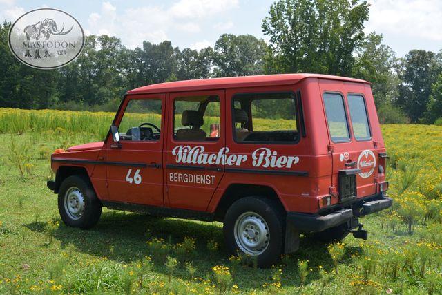 1980 Mercedes  Benz G-wagon 230GE GAS 4cyl BARN DOOR, Birmingham, AL 10