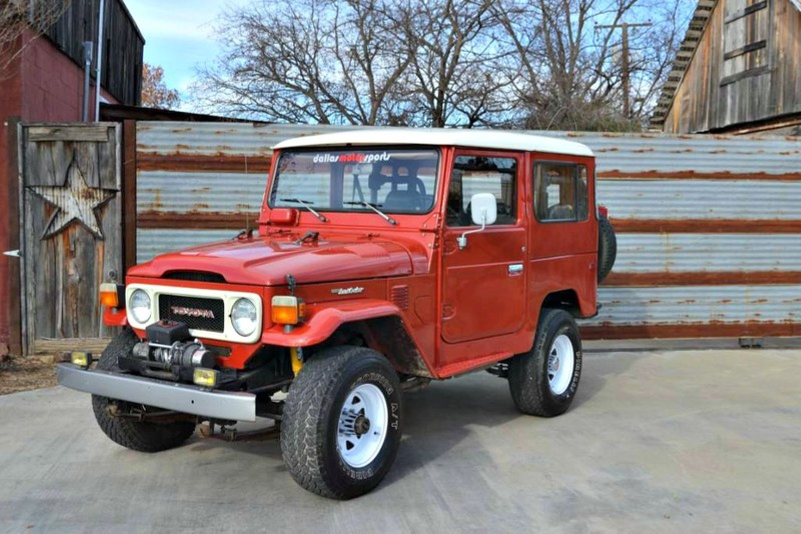 Cruiser 187 Toyota Land Cruiser 1980 Toyota Land Cruiser