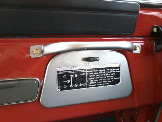 1980 Toyota  Land Cruiser FJ43 ( long wheel base )  Tropical Hardtop San Antonio, Texas 16