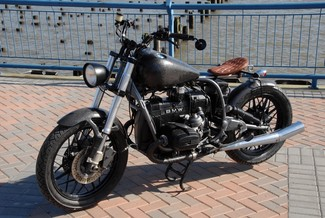 1981 BMW R100 CUSTOM BOBBER WITH FAT BOB H-D TANK MADE TO ORDER Cocoa, Florida 2
