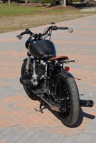 1981 BMW R100 CUSTOM BOBBER WITH FAT BOB H-D TANK MADE TO ORDER Cocoa, Florida 8