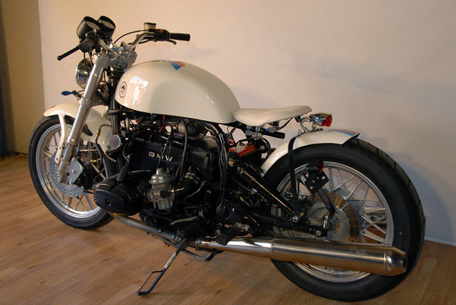 Burgundee Bikes - 1981 BMW R100RT 'M' SERIES STREET FIGHTER