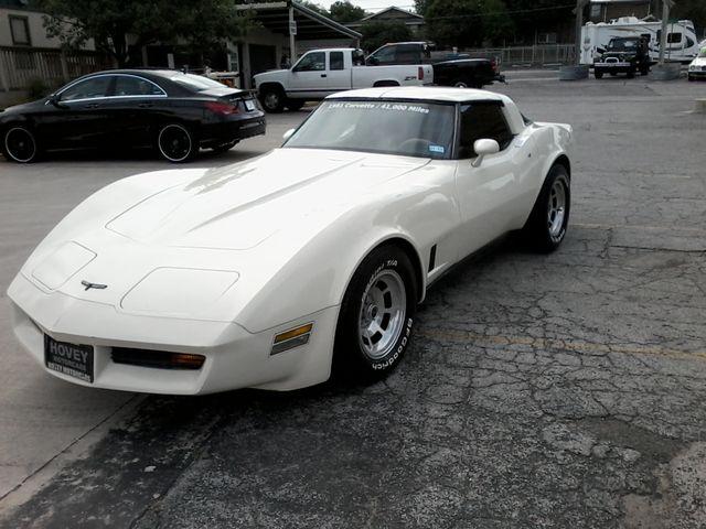 1981 Chevrolet Corvette San Antonio, Texas 4