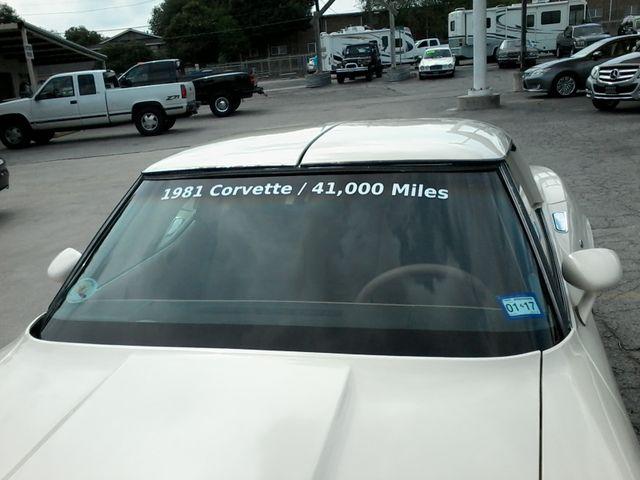 1981 Chevrolet Corvette San Antonio, Texas 18