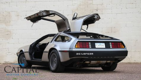 1981 Delorean DMC-12 'Back to the Future' Car with Stage 2 Engine, Gull-Wing Doors & Very Low Miles in Eau Claire