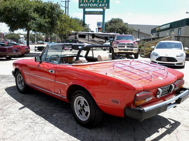 1981 Fiat 2000 SPIDER BY PININIFARINA San Antonio, Texas 3