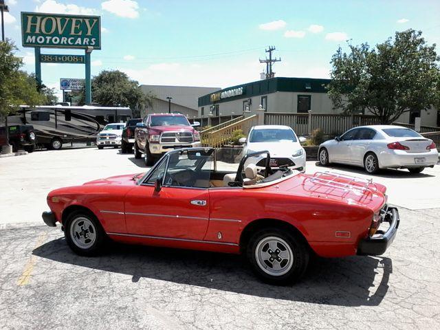 1981 Fiat 2000 SPIDER BY PININIFARINA San Antonio, Texas 4