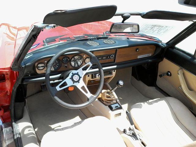1981 Fiat 2000 SPIDER BY PININIFARINA San Antonio, Texas 20