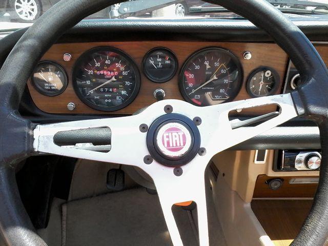 1981 Fiat 2000 SPIDER BY PININIFARINA San Antonio, Texas 21