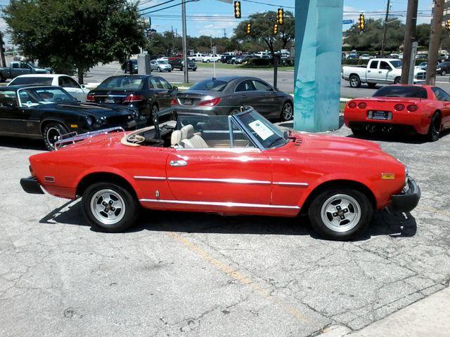 1981 Fiat 2000 SPIDER BY PININIFARINA San Antonio, Texas 1
