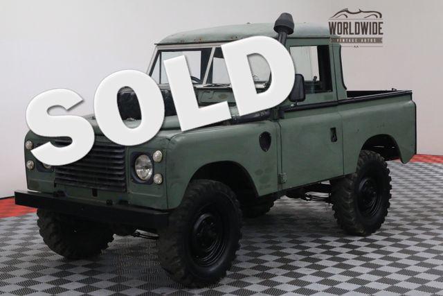 1981 Land Rover SERIES III DEFENDER SNORKEL DIESEL 67K ORIGINAL MILES | Denver, Colorado | Worldwide Vintage Autos