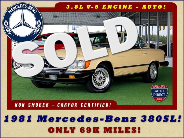 1981 Mercedes-Benz 380 Series 380SL - ONLY 69K MILES! Mooresville , NC 0