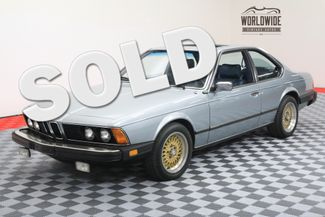 1982 BMW 633CSI in Denver Colorado