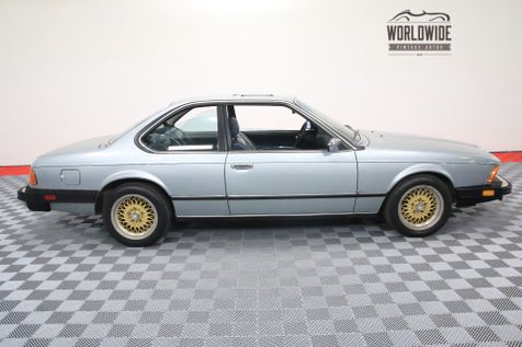 1982 BMW 633CSI INLINE 6. 5-SPEED. EXTREMELY CLEAN   Denver, Colorado   Worldwide Vintage Autos in Denver, Colorado