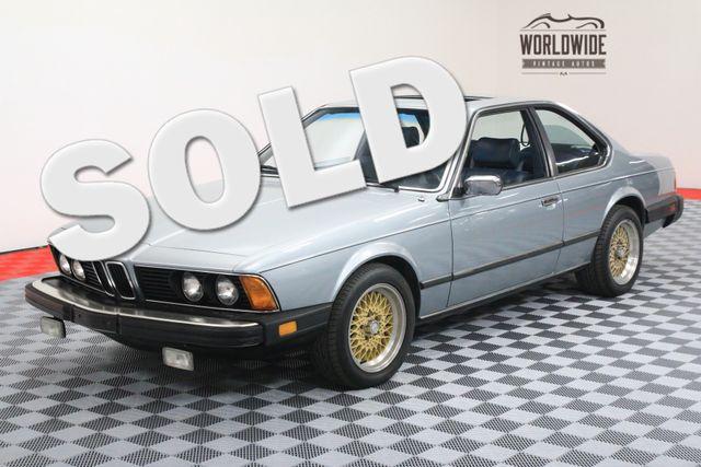 1982 BMW 633CSI INLINE 6. 5-SPEED. EXTREMELY CLEAN   Denver, Colorado   Worldwide Vintage Autos