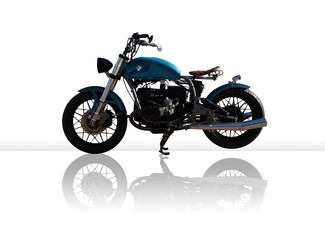 1982 BMW R100 MADE TO ORDER CUSTOM BOBBER TOURING MOTORCYCLE Cocoa, Florida 1