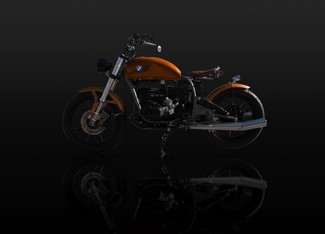 1982 BMW R100 MADE TO ORDER CUSTOM BOBBER TOURING MOTORCYCLE Cocoa, Florida 22