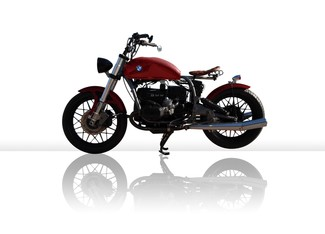 1982 BMW R100 MADE TO ORDER CUSTOM BOBBER TOURING MOTORCYCLE Cocoa, Florida 12