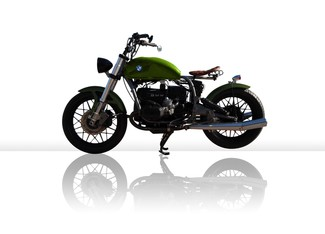 1982 BMW R100 MADE TO ORDER CUSTOM BOBBER TOURING MOTORCYCLE Cocoa, Florida 3