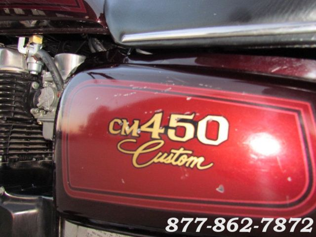 1982 Honda CM450C CM450 CUSTOM McHenry, Illinois 27