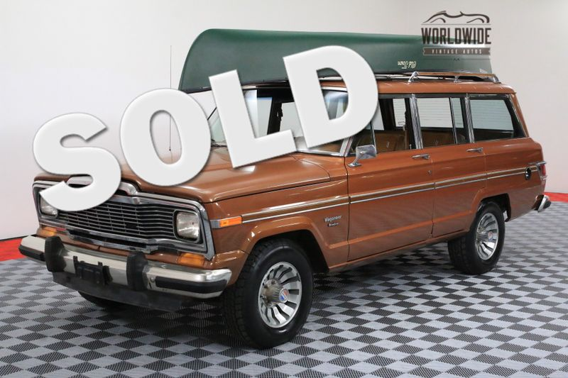 1982 Jeep WAGONEER RARE ROUGHMAN WITH 57K!!! | Denver, CO | Worldwide Vintage Autos