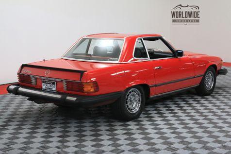 1982 Mercedes-Enz 500SL V8 AUTO TWO TOPS   Denver, CO   WORLDWIDE VINTAGE AUTOS in Denver, CO