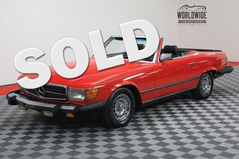 1982 Mercedes-Enz 500SL V8 AUTO TWO TOPS   Denver, CO   WORLDWIDE VINTAGE AUTOS