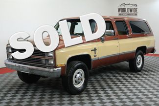 1983 Chevrolet SUBUBAN 4X4 3/4 TON TURBO DIESEL CA VEHICLE | Denver, CO | Worldwide Vintage Autos in Denver CO