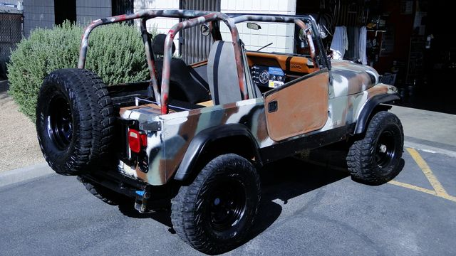 1983 Jeep CJ-7 4X4 OFF ROADER Phoenix, Arizona 18